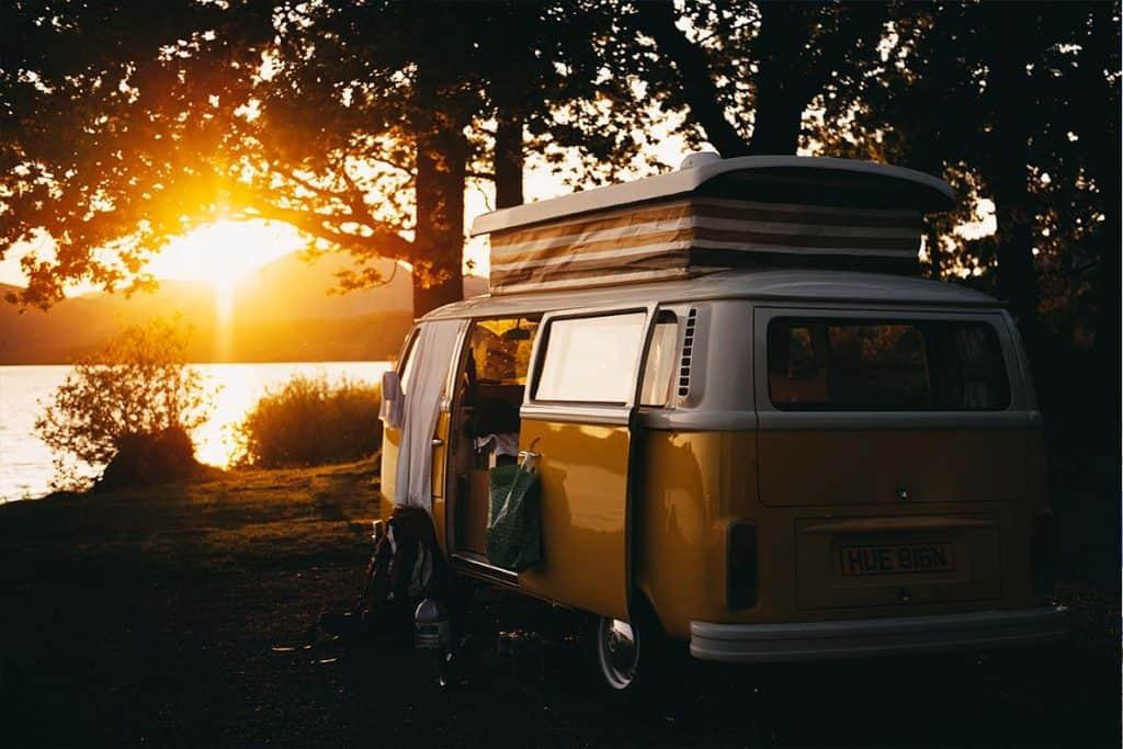 Campervan wild camping