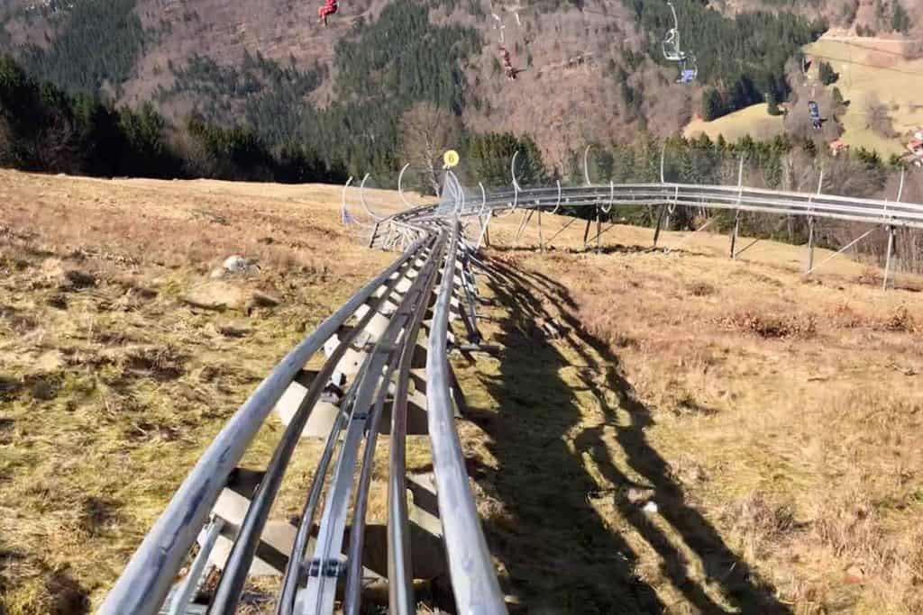 Todtnau Toboggan Run- the Hasenhorn Rodelbahn!