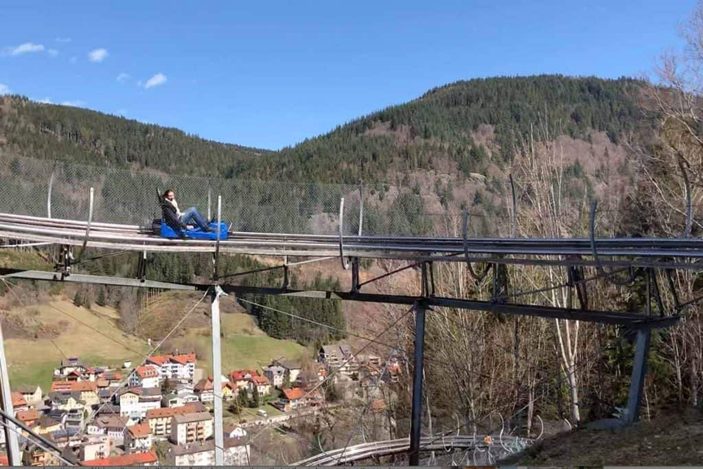 Todtnau Toboggan Run- the Hasenhorn Rodelbahn!