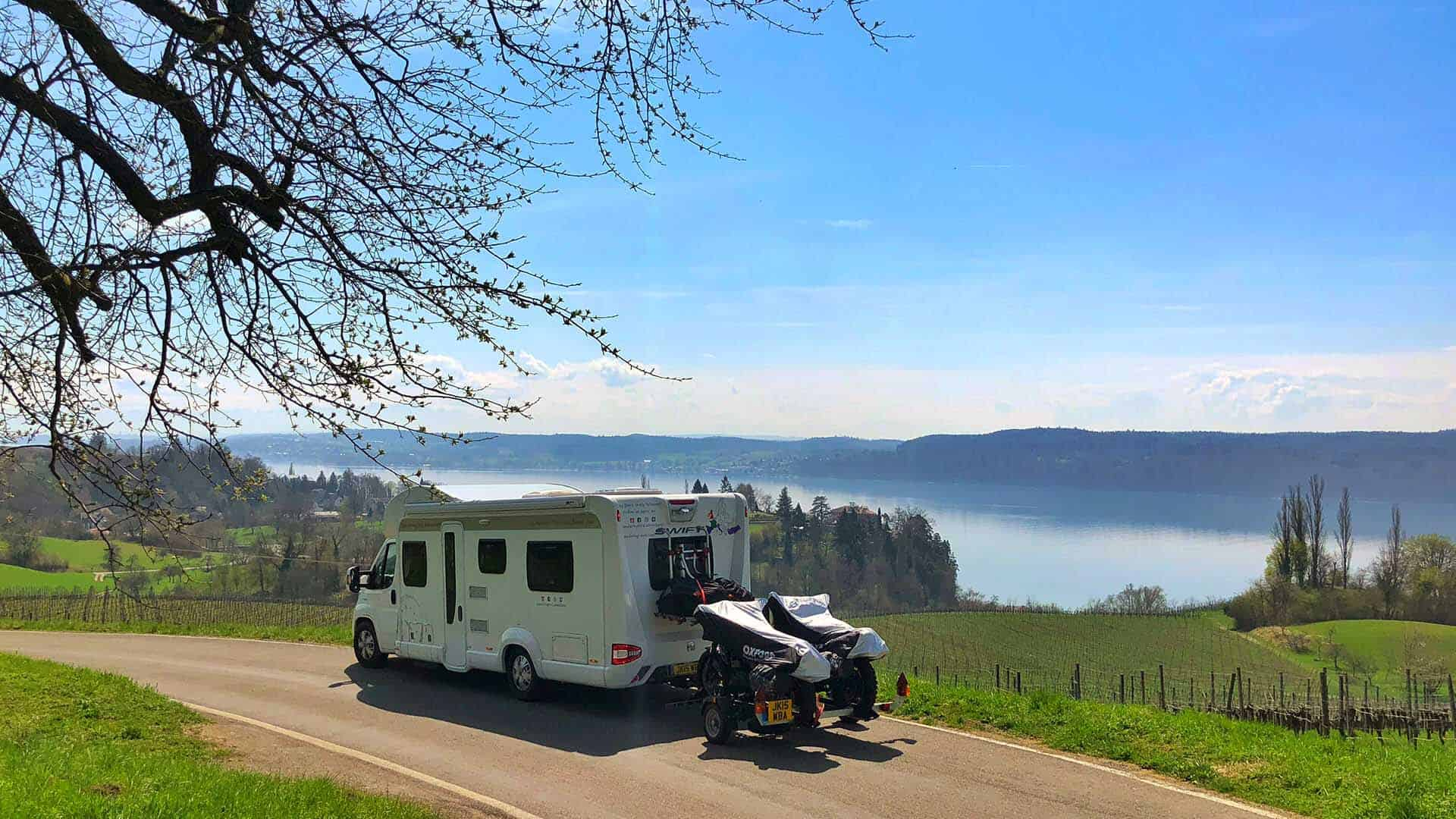 Motorhome Life- our top 10 tips & tricks after our first year of motorhome life and touring Europe in our motorhome. #motorhome #tour #travel #blog #wanderingbird #motorhomelife #tips #tricks #ideas #vanlife