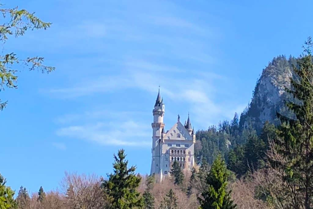 Neuschwanstein Castle in Bavaria, Germany. One of the most famous castles in Europe (and the world!)