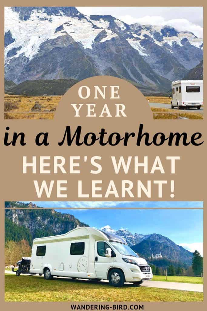 10 essential tips for living in a motorhome or campervan