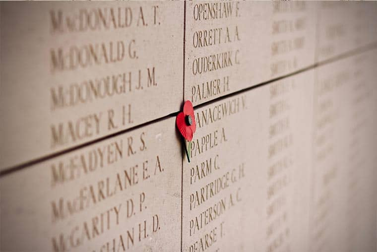 Menin Gate war memorial- how many names are on the Menin Gate