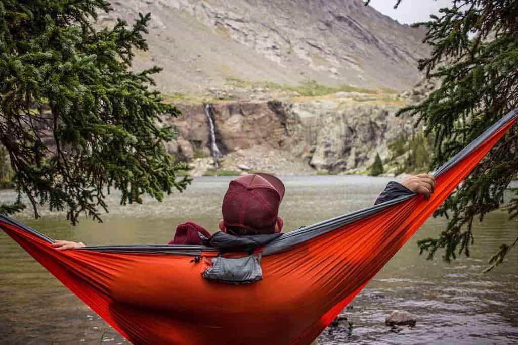 Camper van gift ideas for men- hammock