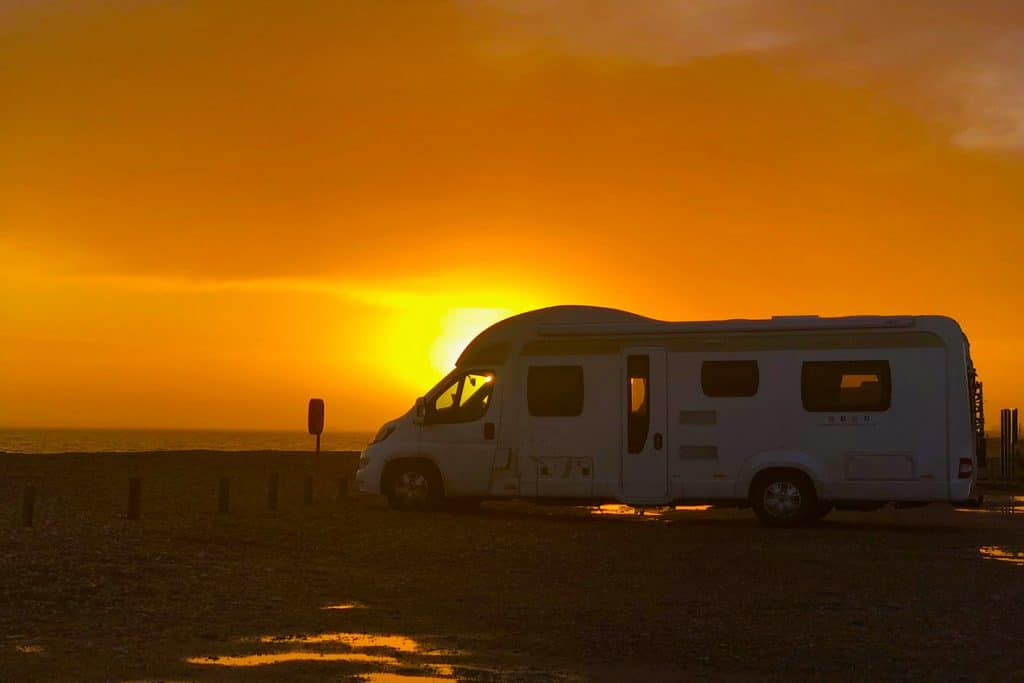 Motorhome Holiday at Hayling Island, Hampshire, UK