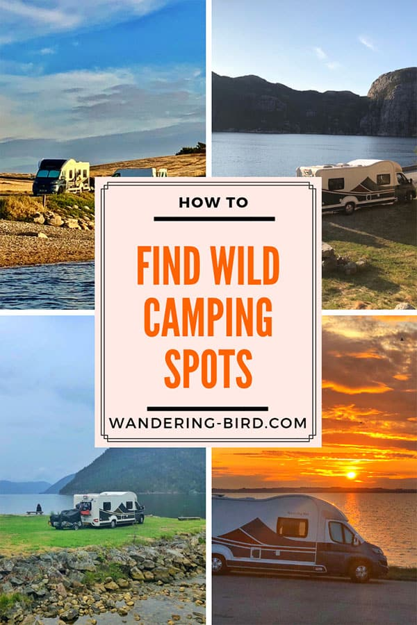 How to wild camp in a motorhome or campervan. Tips and hacks for finding the perfect wild camping spots for your road trip. Wild camping is fun- this guide will help you get it all figured out. #motorhome #camping #campervan #wild #scotland #UK #england #tips #hacks #ideas