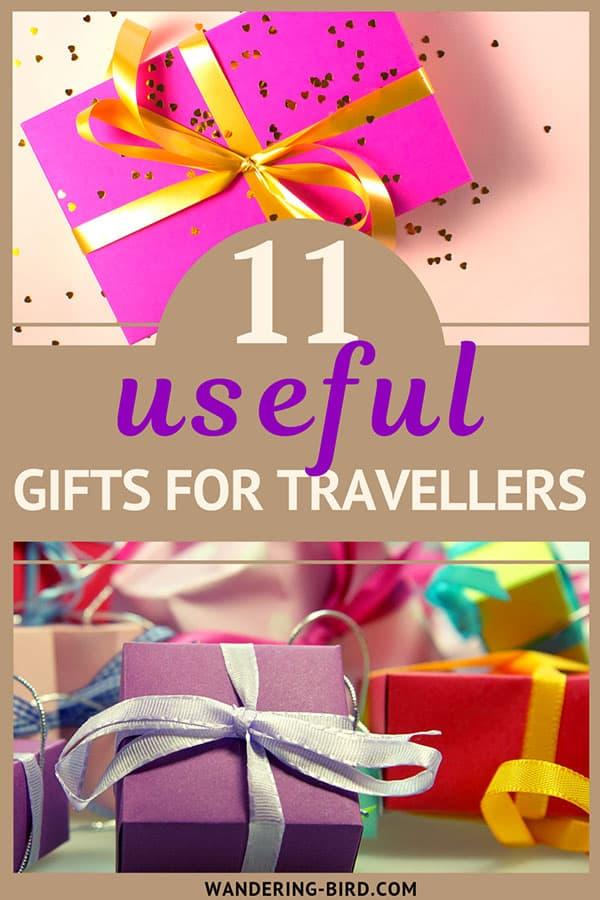 Looking for the perfect gift for someone who loves to travel? This post has 11 useful and unique gifts that your special someone will LOVE! #giftguides #giftsfortravellers