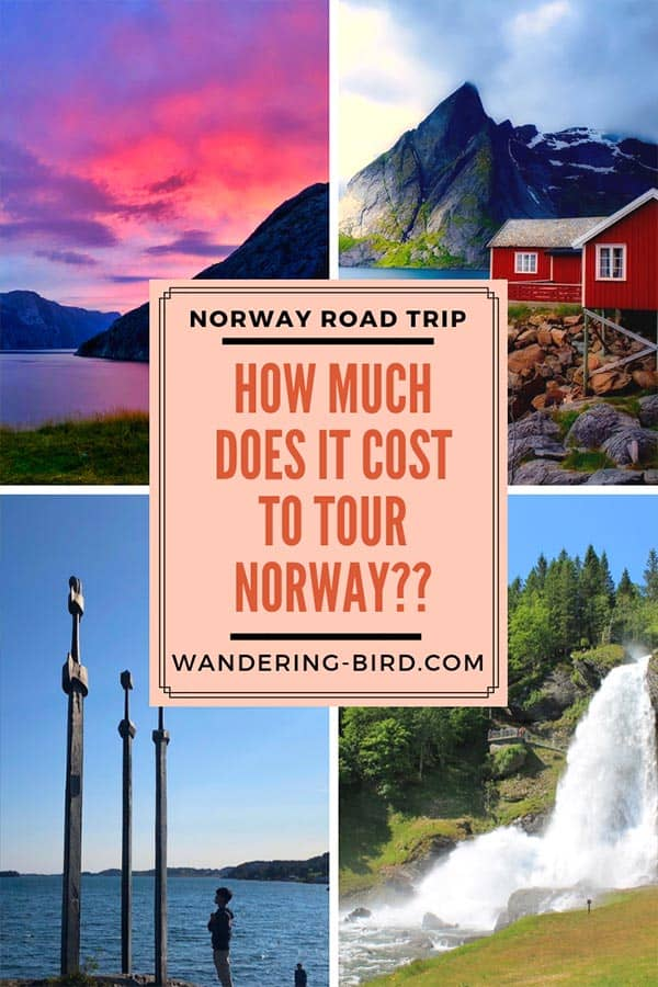 How much does it cost to tour Norway? Just how expensive is Norway to travel? Is it as bad as everyone says? How much does a road trip around Norway cost? We have the answers! #norway #travel #roadtrip #traveltips #costs