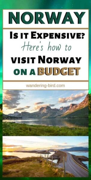 Norway Travel Tips- is Norway Expensive and how to travel Norway on a budget. Road trips in Norway are AMAZING- but they can be expensive. Here's how to travel Norway on a budget and make the most of your adventures. This post includes an itinerary, map, toll costs, ferry costs, how to travel to Norway, destinations and places to see in Norway, route in Norway, travel tips for Norway, budget tips and more! Plan your Norway adventures today! #norway #travel #norwaytravel #traveltips #budgettravel