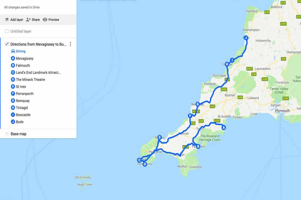 Cornwall Road Trip- 40 Unmissable Places to visit - Wandering Bird on