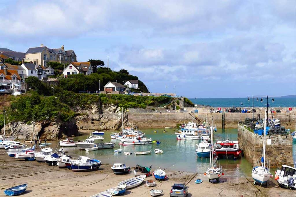 Beautiful places to visit in Cornwall- Newquay Harbour