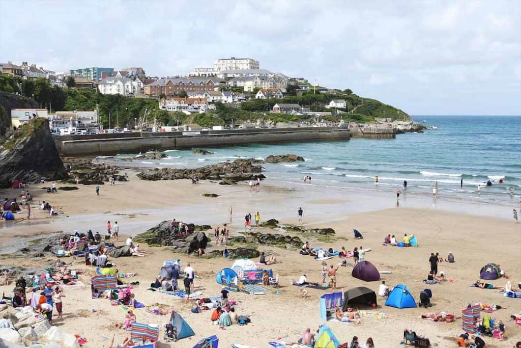Cornwall Trip Tips- Newquay. Beau, mais bondé!