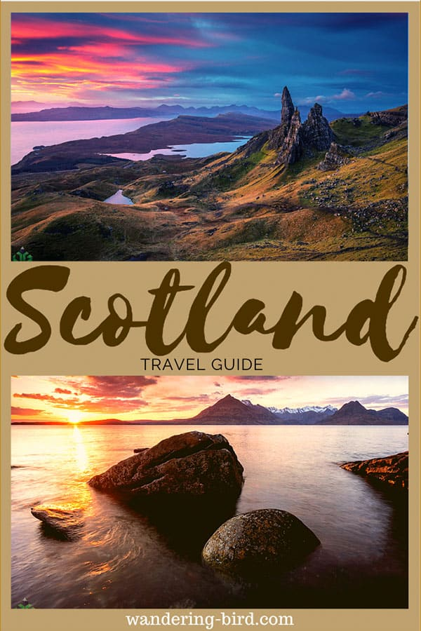Looking for the ULTIMATE road trip and travel guide for Scotland? This 10-14 day itinerary will help you plan your perfect adventure in Scotland and includes Castles, Waterfalls, the Isle of Skye and John o'Groats! Don't miss it. #scotland #itinerary #travelguide #UK #roadtrip #traveltips