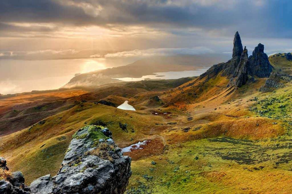 Isle of Skye- part of our Scotland itinerary and road trip route