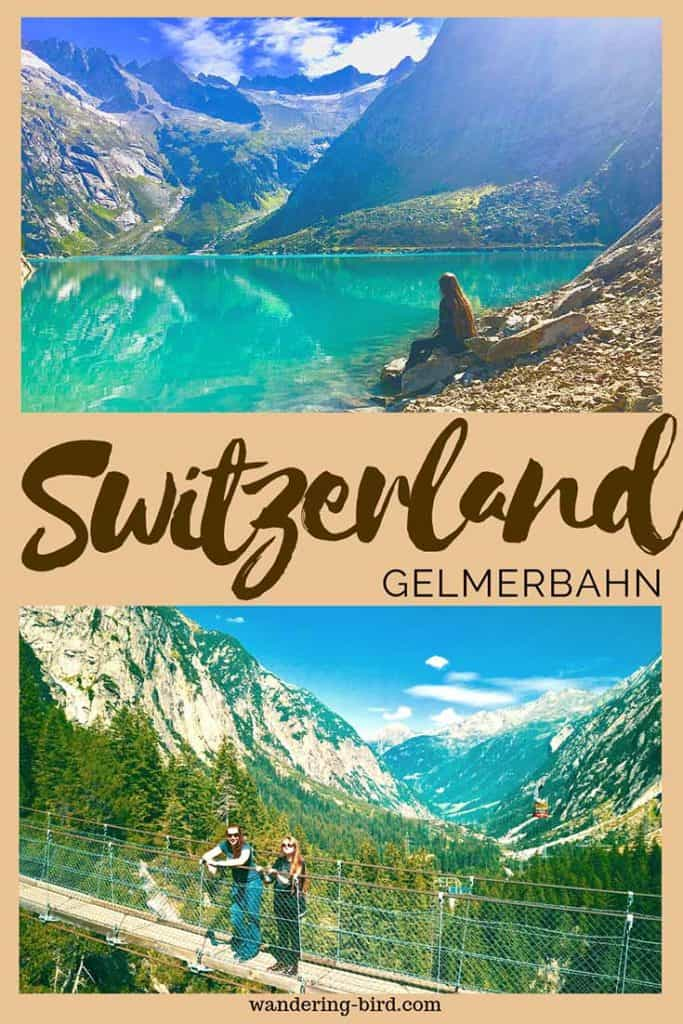 Planning a trip to Switzerland? Add Gelmersee and the Gelmerbahn funicular to your itinerary. This incredible place is a perfect family day out in Switzerland and was one of our favourite things to do! #gelmersee #gelmerbahn #funicular #switzerland #thingstodo