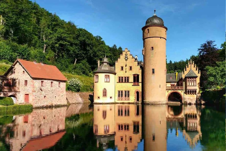 Mespelbrunn Castle- one of the most romantic fairytale castles in Southern Germany