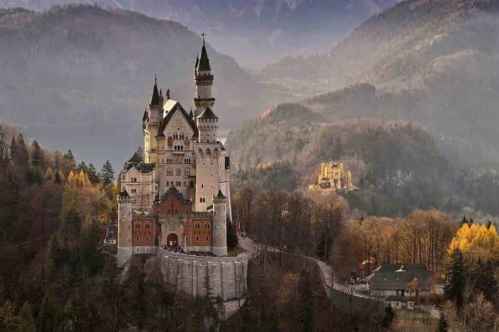 Best castles in Southern Germany