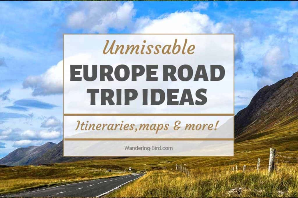 European Road Trip ideas for every itinerary. Plan your European Road Trip today! #roadtrip #travel #europe