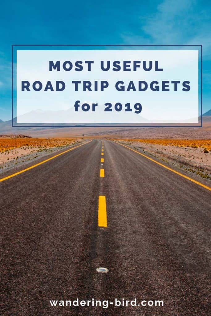 Most useful road trip gadgets in 2019! Looking for the best travel & road trip gadgets for 2019? Look no further- this comprehensive list will definitely help enhance your road trips! #roadtriptips #roadtrip #travel #hacks #accessories #gadgets #rvlife #rvliving