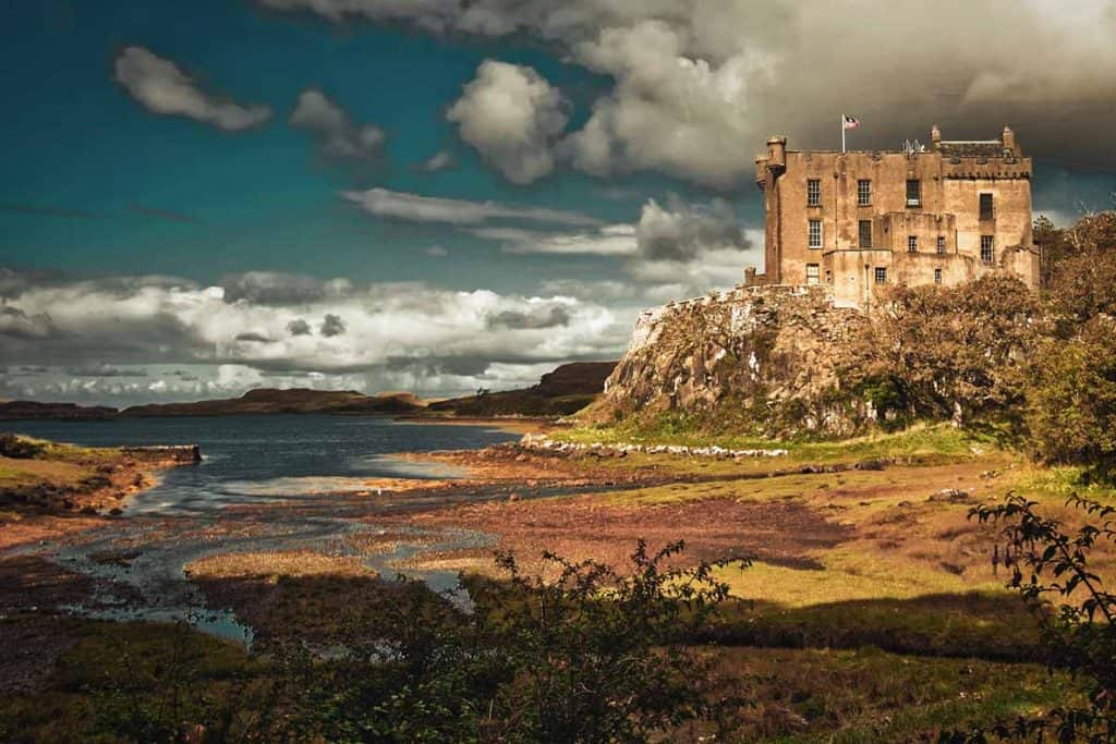 Dunvegan Castle- add it to your Isle of Skye itinerary roadtrip