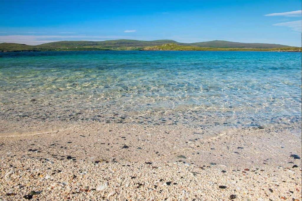 Coral Beach on the Isle of Skye- itinerary and driving map