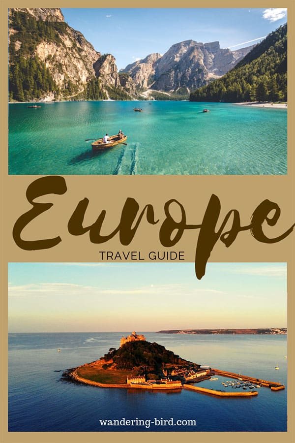 Europe travel can seem intimidating- especially if you've never done it before! Here are 15 of the best Europe road trip tips you need to know before you go. #europetravel #europetraveltips #europe