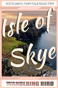 Looking for the PERFECT Isle of Skye itinerary? Whether it's for a day, a weekend or longer- there's PLENTY to see on the Isle of Skye! Your Scotland road trip won't be complete with a visit to the Isle of Skye fairy pools or the Isle of skye beaches. #isleofskye #fairypools #scotland #roadtrip #itinerary #thingstodo #beaches #photography