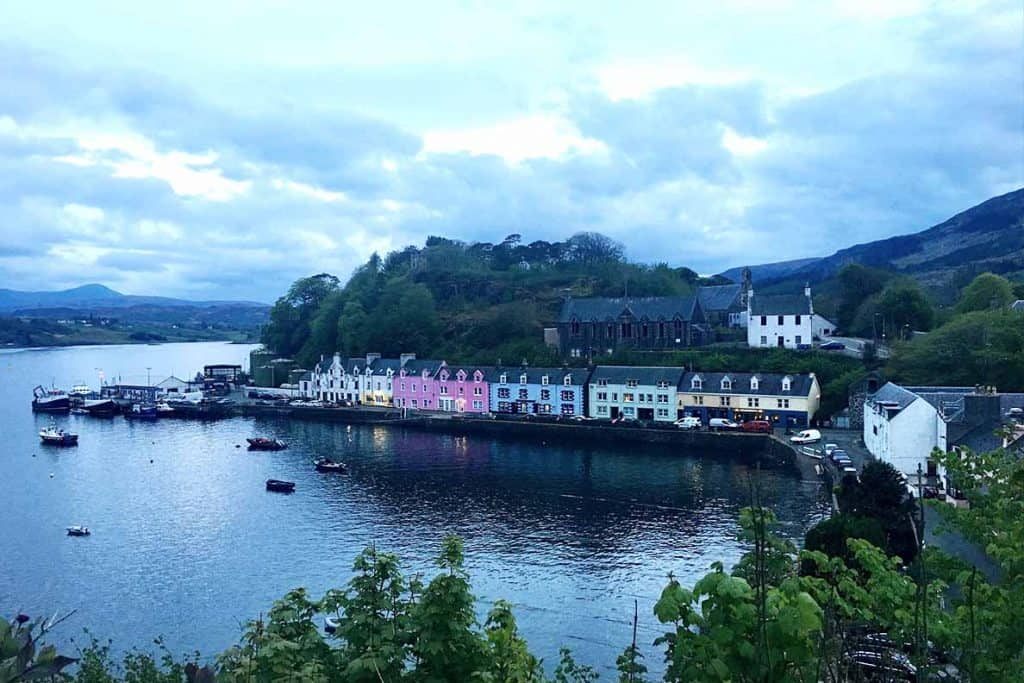 Portree- Isle of Skye Itinerary and roadtrip