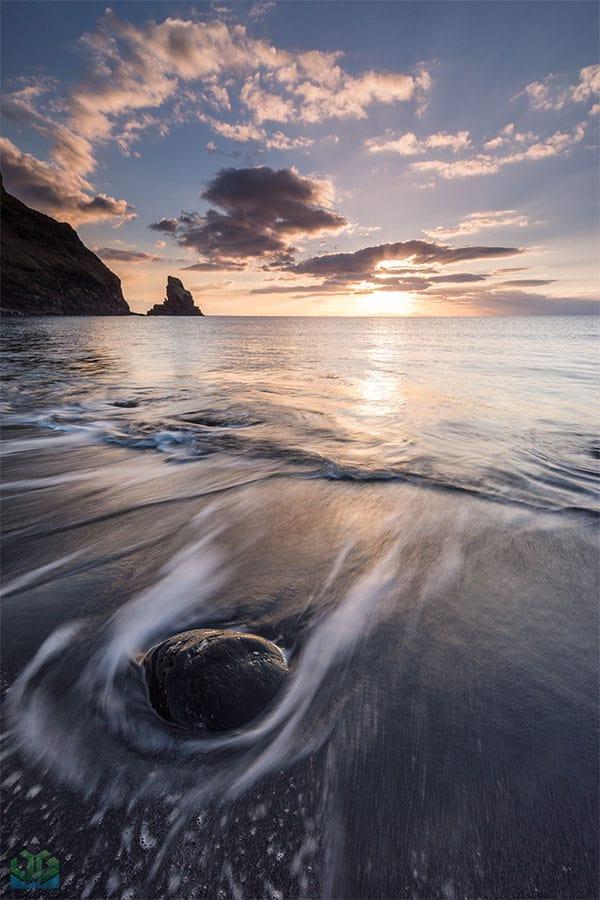 Plage de la baie de Talisker - ajoutez-la à votre itinéraire sur l'île de Skye