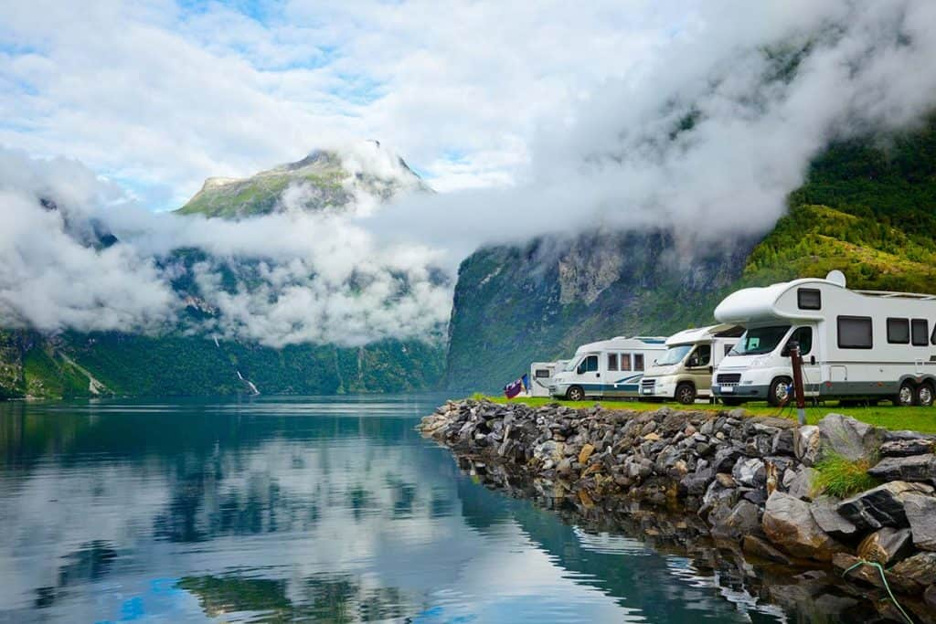 Motorhoming in Norway