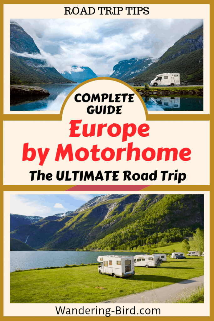 Looking to tour Europe in a Motorhome? This guide tells your everything you need about road trips, camping, gear to carry and Europe routes and itineraries. #europe #motorhome #roadtrip