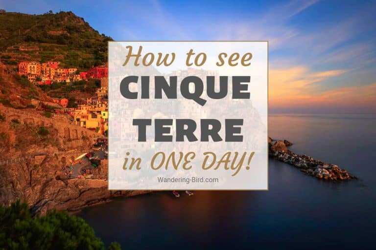 Cinque Terre Towns Italy, One day itinerary with map, timeline and travel tips.