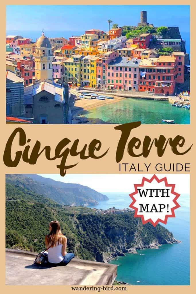 Looking for things to do in Cinque Terre, along with a map and itinerary. This guide plans your trip to Vernazza and Monterosso and the rest= a perfect guide to your Italy travel. #cinqueterre #italy #travelguide