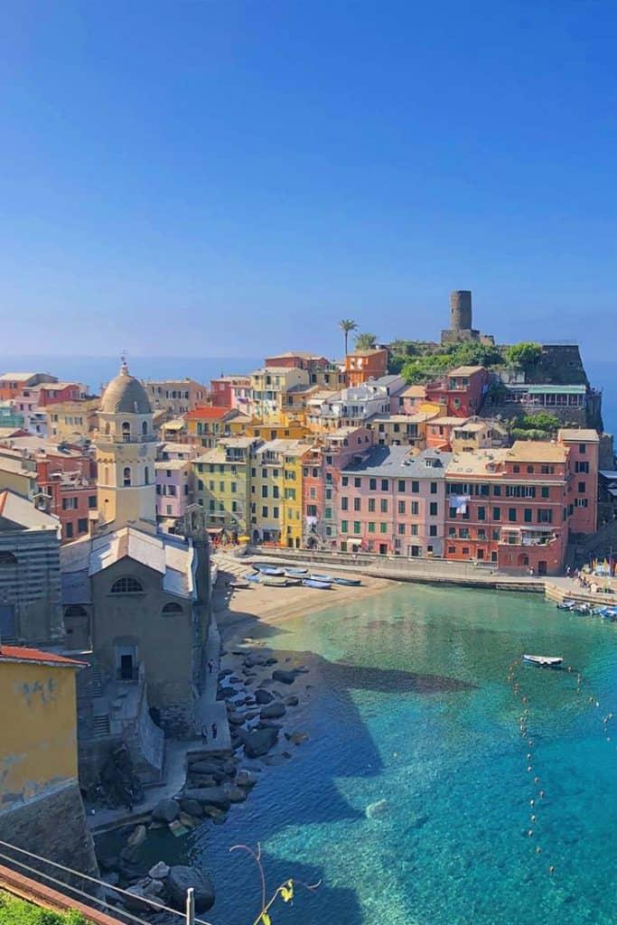 Vernazza, cinque Terre, italy travel guide