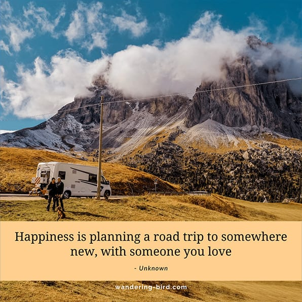 Friends & Family road trip quotes
