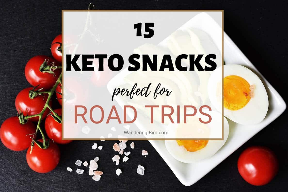 Keto snacks to buy on a road trip