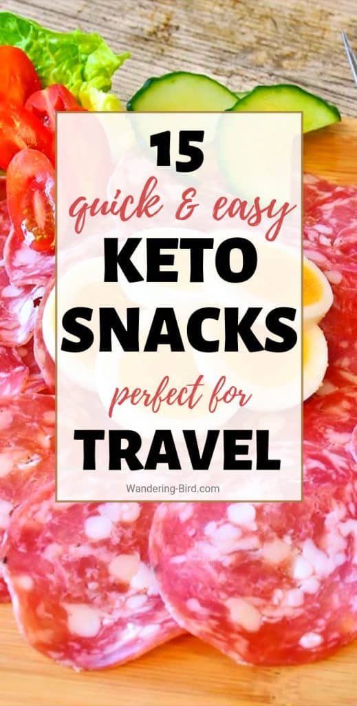 BEST On The Go KETO SNACKS - Why should going KETO stop you enjoying snacks? Especially if you're travelling or on the go. Here are 15 AMAZINGLY easy and quick KETO snacks to grab on a road trip. #ketosnacks #onthego #ketoreceipes #ketodiet #ketogenic #ketogenicdiet