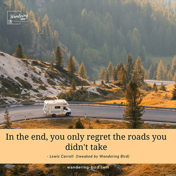 Inspiring quotes for road trips