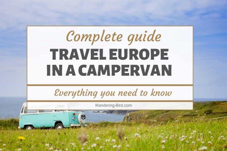 Europe in a campervan