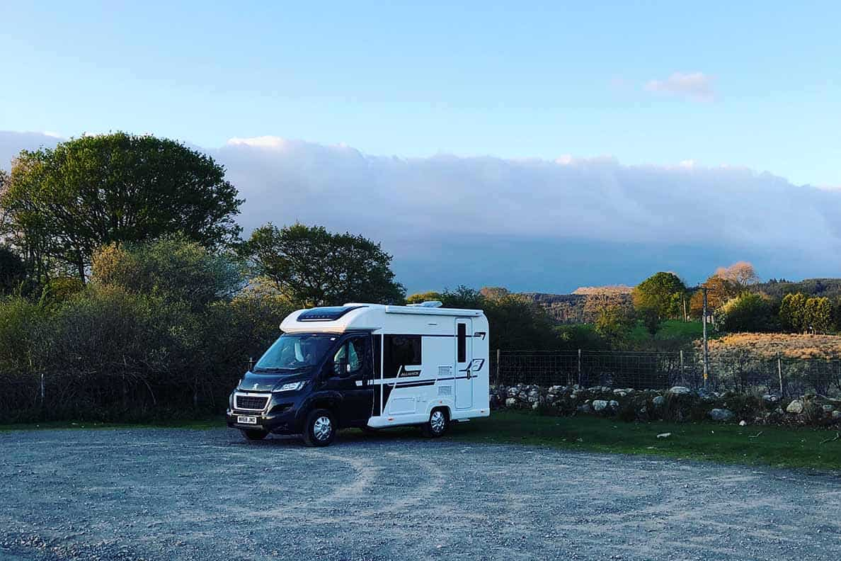 motorhome and campervan parking laws in the UK, England, Scotland and Wales- what's legal, what's not.