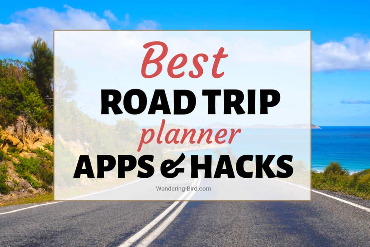 """BEST road trip planner travel apps to help planning your road trip so much easier. Road trip travel apps to save you money, plan the best route, organise your complete trip and make sure you don't forget anything! #roadtrip #travel #apps #planning"""""""