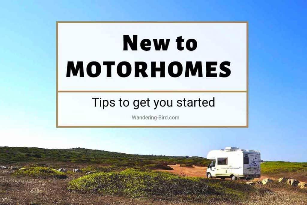 Motorhome tips for beginners
