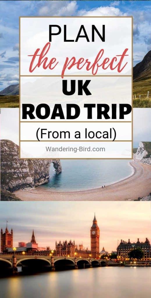 Plan a UK road trip