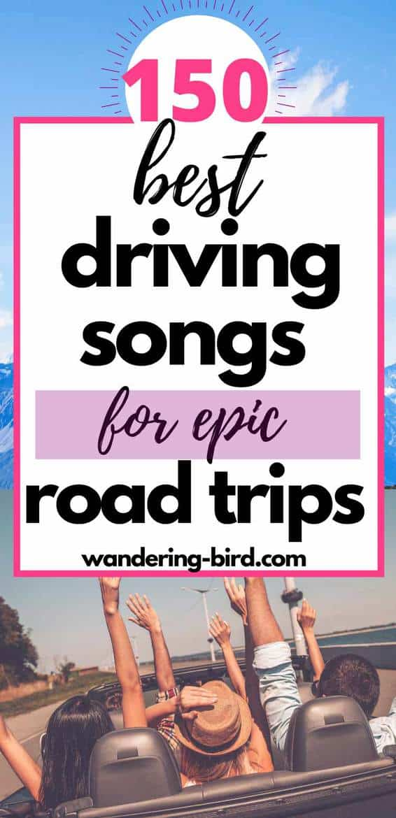 Best road trip songs to sing along to and best driving songs in 2020