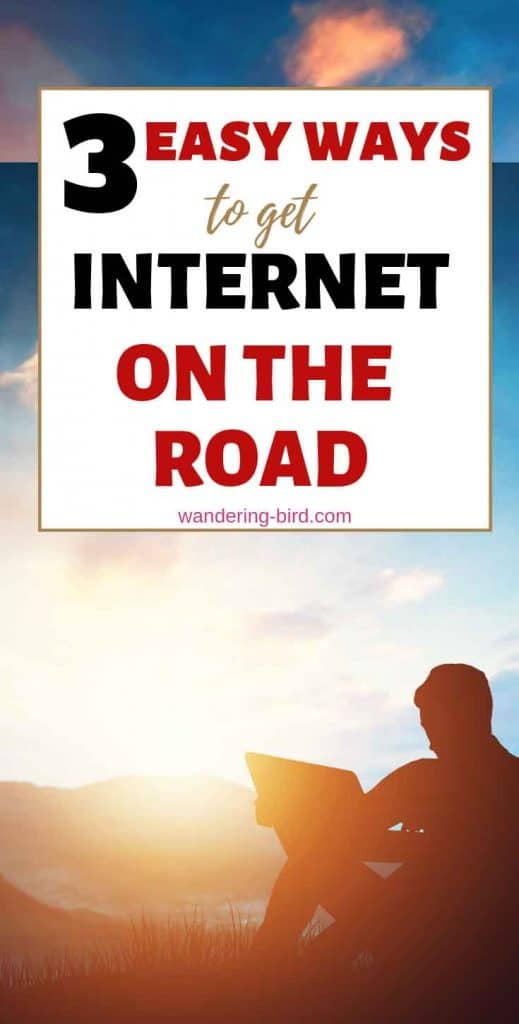 How to get mobile wifi or internet on the road or while RVing.