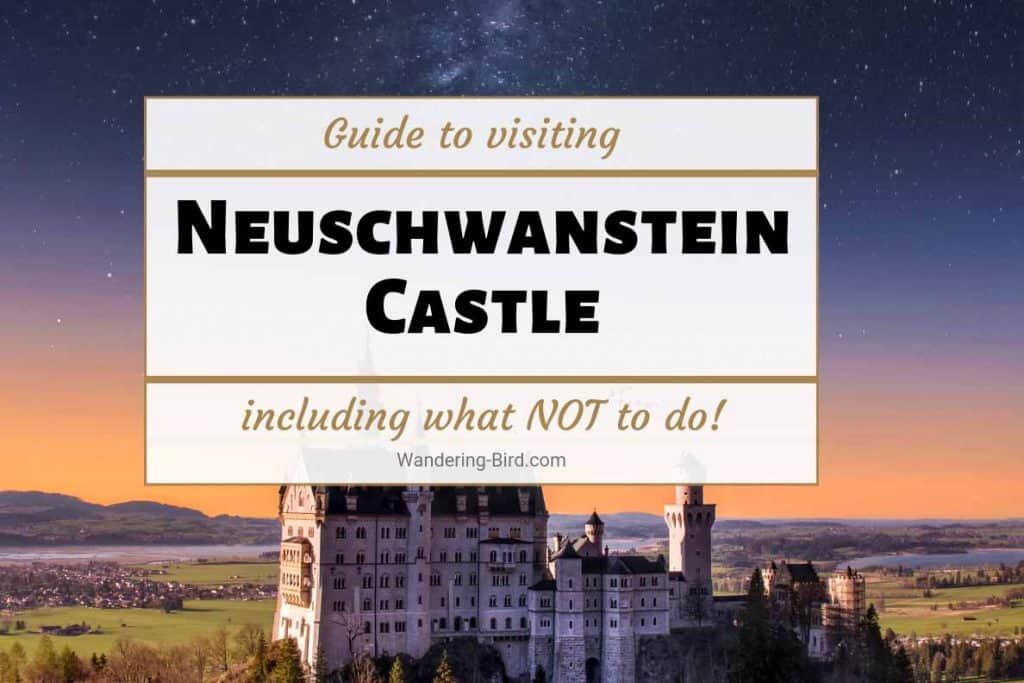 Neuschwanstein Castle Germany Fairytale Disney Castle guide tips for visit