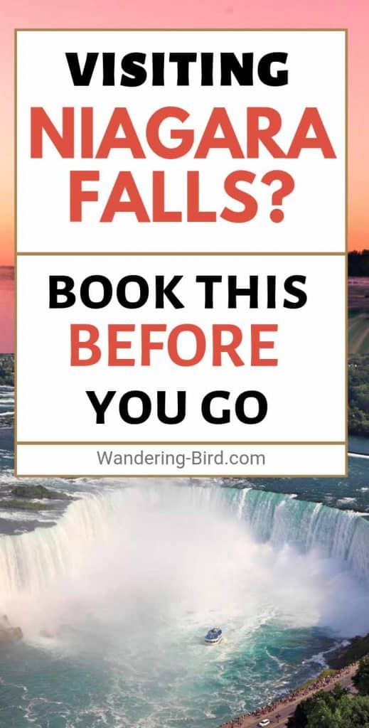 Planning a visit to Niagara Falls? Looking for things to do at Niagara? Whatever you do- BOOK THIS before your trip, whether you stay on the US or Canada side. This was the BEST thing we did on our vacation, and it's perfect with kids or without.
