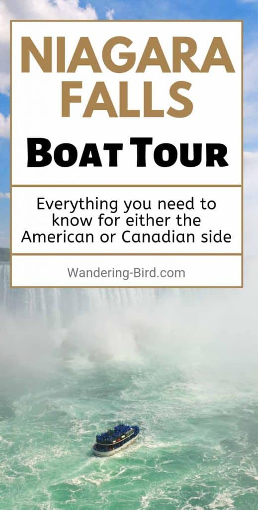 Niagara Falls Boat Tour- this was AMAZING. Well worth the time- it's one of the best things to do on your Niagara vacation. Whether you go from the US or Canadian side, definitely book this tour!