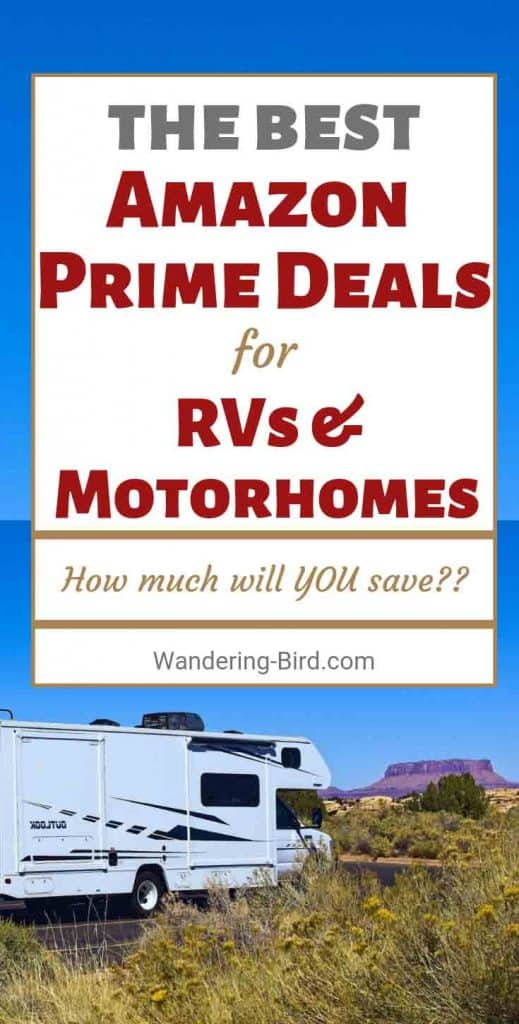 Looking for the best 2019 Amazon Prime Day deals for RVs, Motorhomes, campers, road trips and more? Here's how to find them! Amazon Prime Day is actually BIGGER than Black Friday, with over 100,000 deals!! Here's how to take advantage of them and save yourself some serious money!
