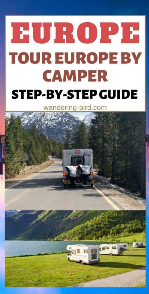 Want to Travel Europe by Motorhome or Camper van? This guide will take you through EVERYTHING you need to do, including essential kit for Europe, where to stay, power requirements, money, tolls, safety and much more!